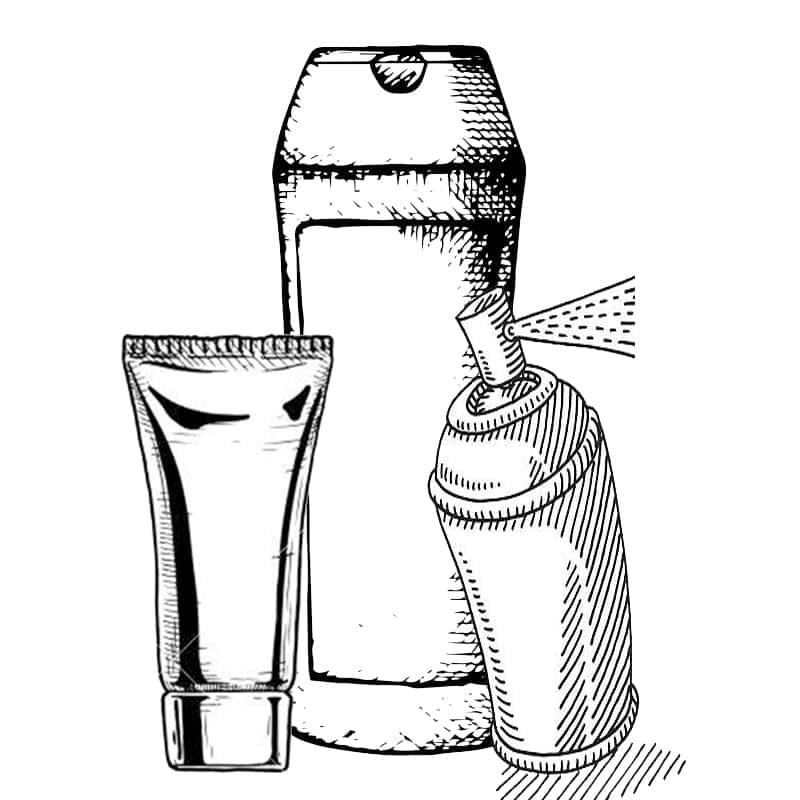 Προϊόντα Κομμωτηρίου