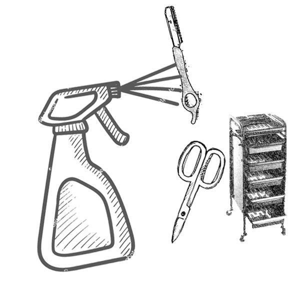 Απολύμανση εργαλείων / επιφανειών