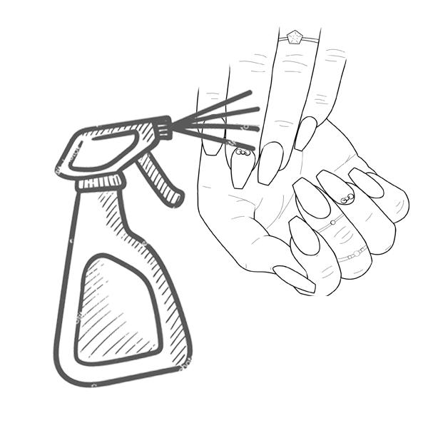 Απολύμανση χεριών / δέρματος