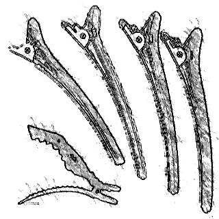 Κλιπς - Κλαμερ κομμωτηρίου